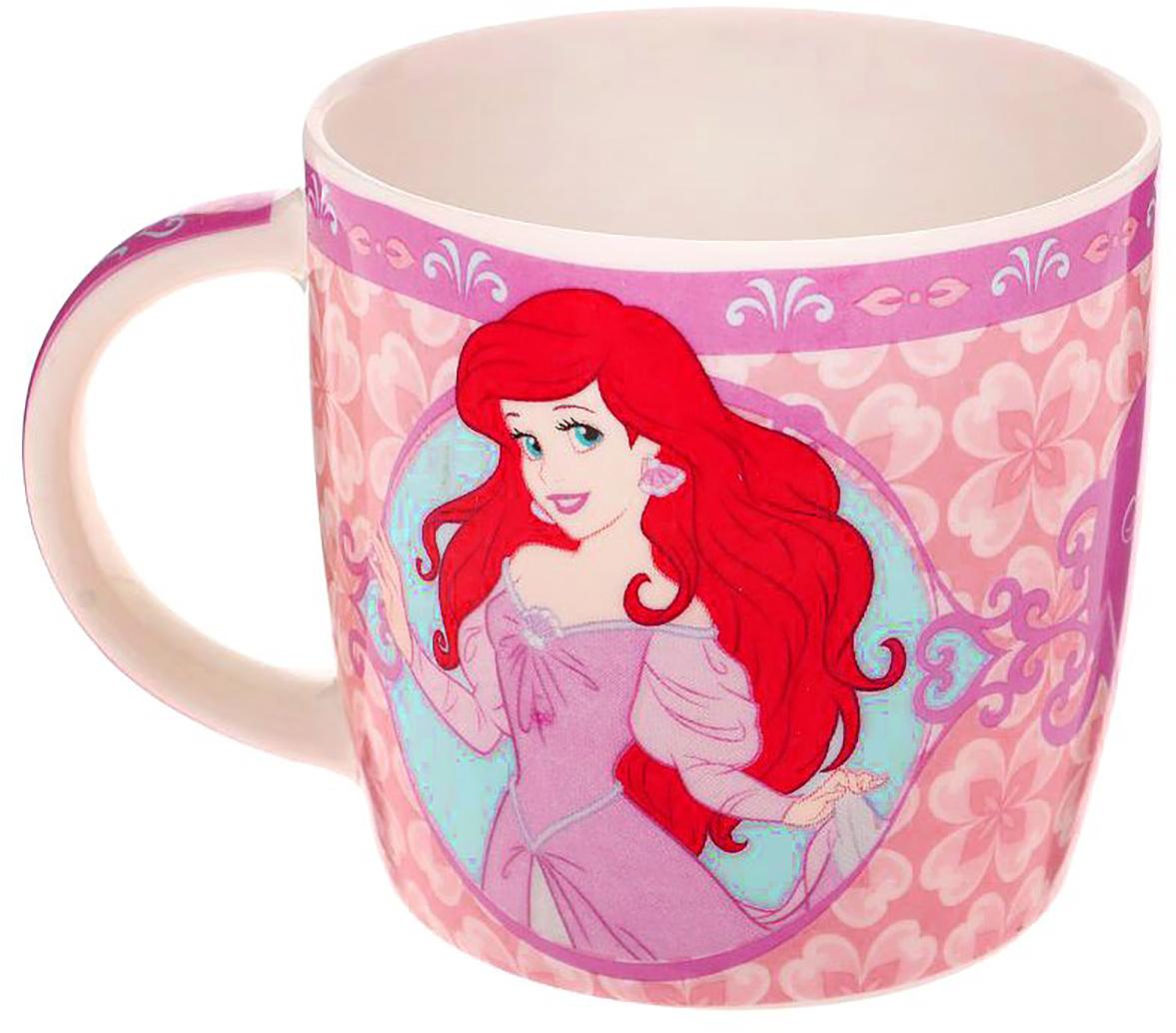 Кружка Disney Ты самая чудесная. Принцессы, 250 мл1231096Кружка с любимыми героями обязательно порадует малыша! Она яркая и волшебная, почти как лампа Алладина. Красочное изображение и дорогие сердцу персонажи будут радовать ребенка каждый день! С такой кружкой любой напиток станет в два раза вкуснее и желаннее. Благодаря яркой дизайнерской упаковке кружку можно подарить на любое важное событие в жизни малыша. Все материалы посуды безопасны для здоровья детей и взрослых. Соберите коллекцию лицензионной посуды с изображением любимых героев!