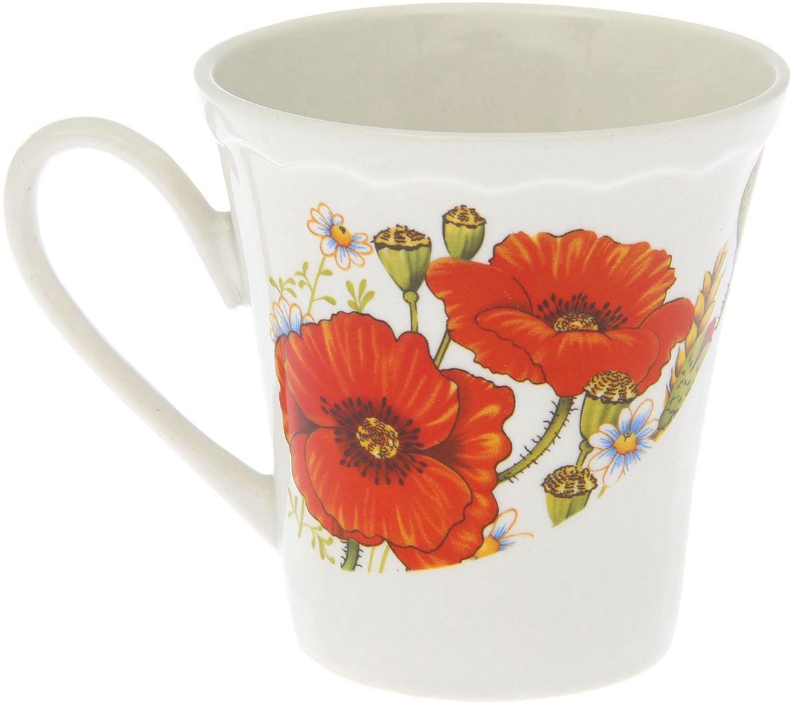 Кружка, выполненная из керамики, выдержит высокую и низкую температуру, надолго сохранит  чай горячим, а остуженные напитки холодными. Емкость не выделяет вредных веществ при сильном нагреве. Кружка долго сохраняет  первоначальный внешний вид и подходит как для мытья вручную, так и в посудомоечной машине.  Интересное оформление украшает изделие и выделяет среди прочих. Окружайте себя красивыми вещами: такая кружка поднимет вам настроение даже в ненастный  день!