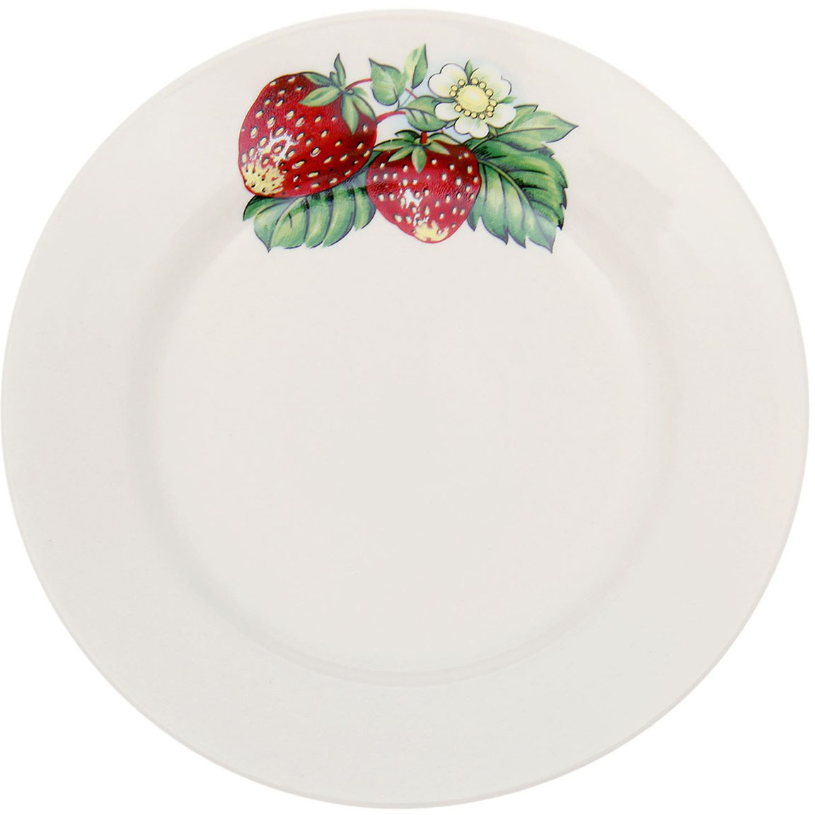 Тарелка мелкая Керамика ручной работы Земляничная пара, диаметр 17,5 см1764839Данная тарелка понравится любителям вкусной и полезной домашней пищи. Такая посуда практична и красива, в ней можно хранить и подавать разнообразные блюда. При многократном использовании изделие сохранит свой вид и выдержит мытье в посудомоечной машине. В керамической емкости горячая пища долго сохраняет свое тепло, остуженные блюда остаются прохладными. Изделие не выделяет вредных веществ при нагревании и длительном хранении за счет экологичности материала.