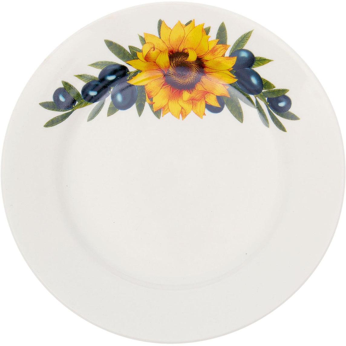 Тарелка мелкая Керамика ручной работы Оливки, диаметр 17,5 см1764841Данная тарелка понравится любителям вкусной и полезной домашней пищи. Такая посуда практична и красива, в ней можно хранить и подавать разнообразные блюда. При многократном использовании изделие сохранит свой вид и выдержит мытье в посудомоечной машине. В керамической емкости горячая пища долго сохраняет свое тепло, остуженные блюда остаются прохладными. Изделие не выделяет вредных веществ при нагревании и длительном хранении за счет экологичности материала.