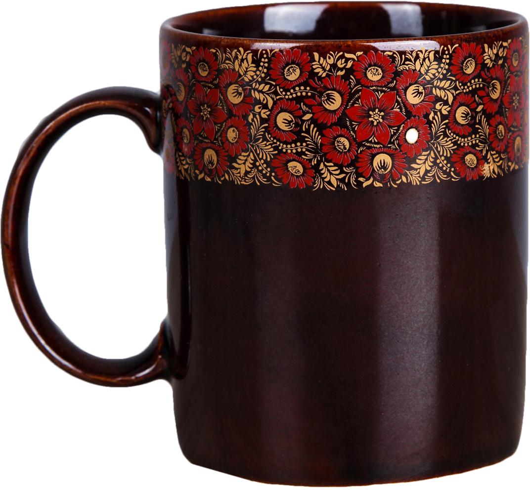 Кружка Керамика ручной работы Офисная, 300 мл. 18753841875384Данная кружка выполнена из керамики. Изделие выдержит высокую и низкую температуру, надолго сохранит чай горячим, а остуженные напитки холодными. емкость не выделяет вредных веществ при сильном нагреве. Кружка долго сохраняет первоначальный внешний вид и подходит как для мытья вручную, так и в посудомоечной машине. Интересное оформление украшает изделие и выделяет среди прочих. Окружайте себя красивыми вещами: такая чашка поднимет вам настроение даже в ненастный день!