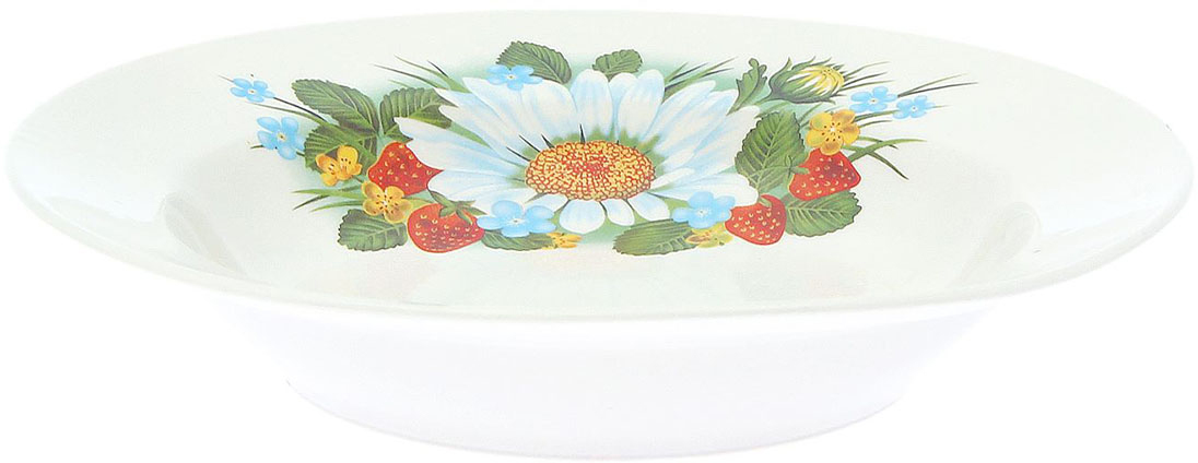 Тарелка глубокая Керамика ручной работы Лесная деколь, диаметр 20 см1933102Данная тарелка понравится любителям вкусной и полезной домашней пищи. Такая посуда практична и красива, в ней можно хранить и подавать разнообразные блюда. При многократном использовании изделие сохранит свой вид и выдержит мытье в посудомоечной машине. В керамической емкости горячая пища долго сохраняет свое тепло, остуженные блюда остаются прохладными. Изделие не выделяет вредных веществ при нагревании и длительном хранении за счет экологичности материала.