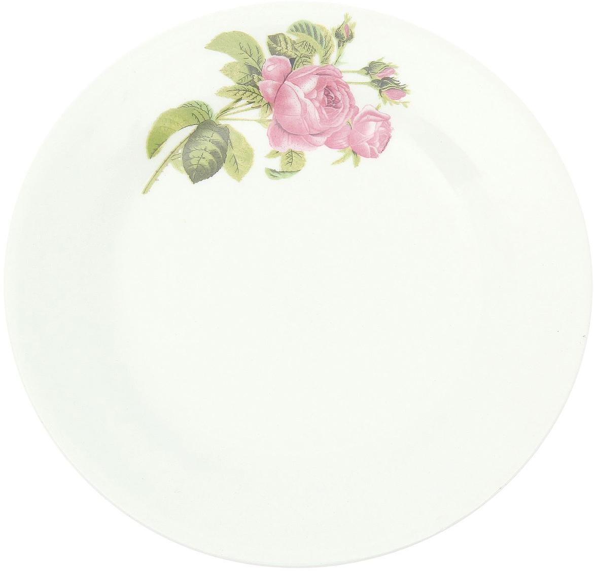 Тарелка мелкая Керамика ручной работы Роза Кавказа, диаметр 20 см2004014Данная тарелка понравится любителям вкусной и полезной домашней пищи. Такая посуда практична и красива, в ней можно хранить и подавать разнообразные блюда. При многократном использовании изделие сохранит свой вид и выдержит мытье в посудомоечной машине. В керамической емкости горячая пища долго сохраняет свое тепло, остуженные блюда остаются прохладными. Изделие не выделяет вредных веществ при нагревании и длительном хранении за счет экологичности материала.