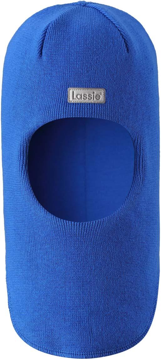 Шапка-шлем детская Lassie, цвет: голубой. 7187436610. Размер 50/527187436610Шапка-шлем Lassie для малышей и детей постарше – классический выбор для зимней поры. Модель предназначена для защиты ушек, лба и области шеи от холода и ветра. Ветронепроницаемые вставки в области ушей также обеспечивают дополнительную защиту. Такую шапку легко сочетать и удобно носить.