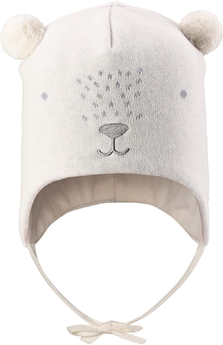 Шапка детская Lassie, цвет: белый. 718740B0120. Размер 46/48718740B0120