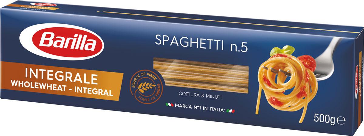 Barilla Спагетти интеграле, 500 г romeo rossi паста яичная 4 яйца ригатони трехцветная 500 г