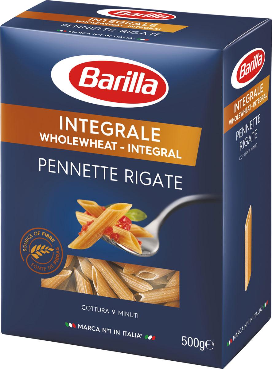 Barilla Пеннете Ригате интеграле, 500 г pasteroni ригате 129 450 г
