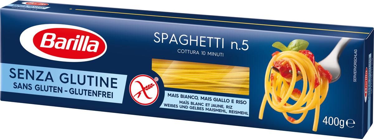Barilla спагетти без глютена, 400 г макароны каннеллони barilla 250г