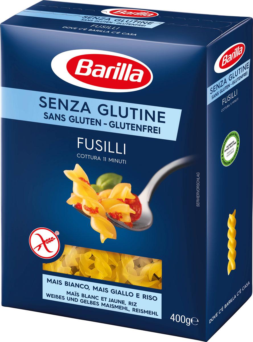 Barilla Фузилли без глютена, 400 г barilla spaghetti паста спагетти 500 г