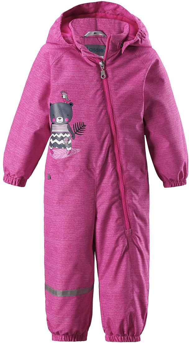 Комбинезон утепленный детский Lassie, цвет: розовый. 710723R4161. Размер 86 феникс мешок для обуви пора в школу