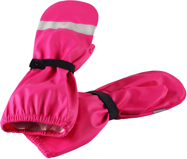 Варежки детские Lassie, цвет: розовый. 5272074620. Размер 5 варежки