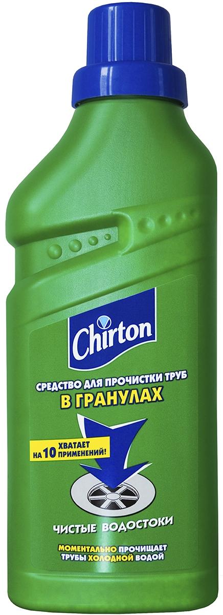 Средство для прочистки труб холодной водой Chirton, в гранулах, 600 г01911Засорившиеся трубы отныне не принесут неудобств – достаточно применитьсредство для прочистки труб.Преимущества:Смывается холодной водой.Эффективно действует с первого применения.