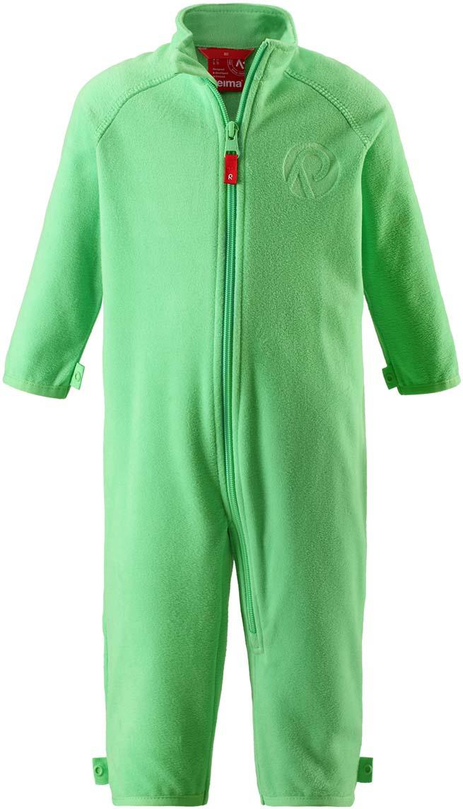 Комбинезон утепленный детский Reima Kiesu, цвет: зеленый. 5163368460. Размер 86