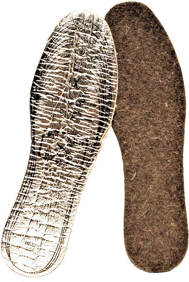 Стельки для обуви, трехслойные, металлизированные, цвет: коричневый. Размер 35-45A2017З/47Изделия из верблюжей шерсти повышают жизненный тонус, работоспособность , устойчивость к воздействию вредных факторов внешней среды, позволяют ноге дышать создавая чувство комфорта.Обладает теплоизолирующим эффектом, благодаря которому расширяются сосуды, увеличивается микроциркуляция крови, активируя обмен веществ и восстановительные процессы в тканях. Снимает статическое напряжение, благотворно воздействует на опорно-двигательный аппарат. Размер 36-45.