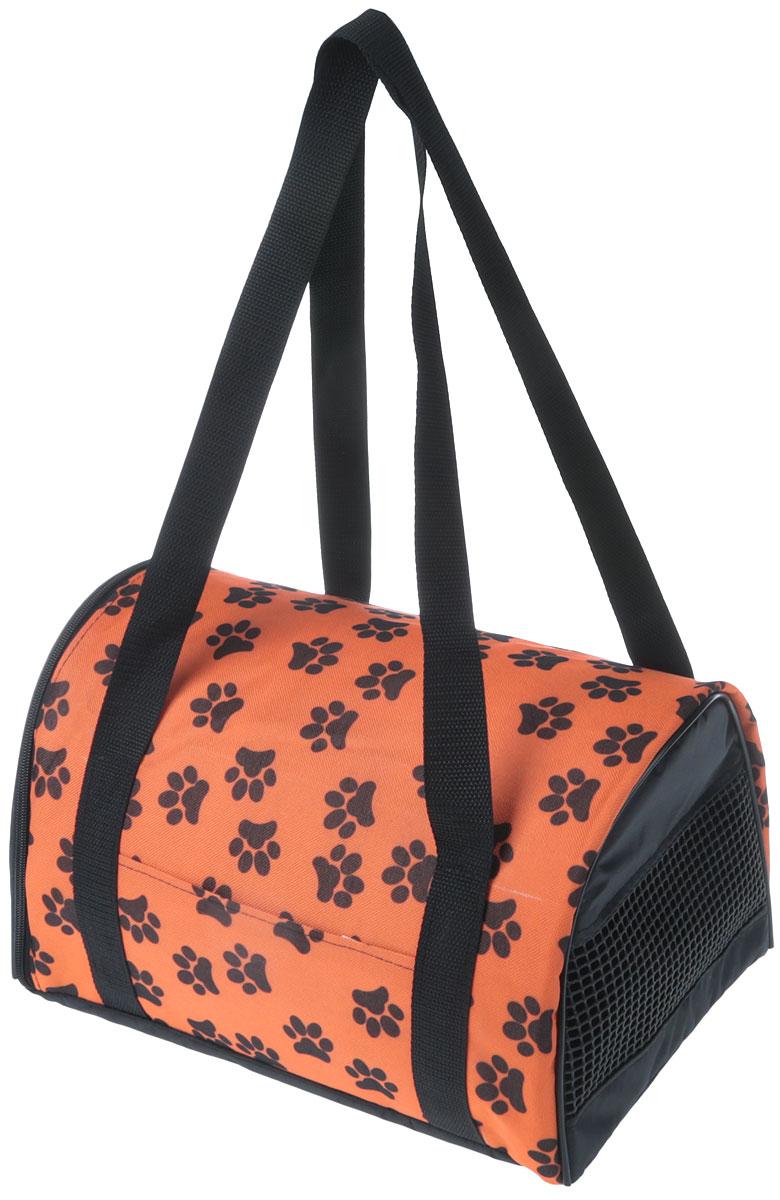 Сумка-переноска для животных Теремок, цвет: оранжевый, 34 х 22 х 21 смСП-1_оранжевыйУдобная и практичная сумка-переноска Теремок предназначена для собак и кошек. Плотная износоустойчивая ткань хорошо стирается. Твердое основание сумки не позволит животному провисать. Сумка подходит для переноски небольших животных. Особенности: Сеточка для вентиляции с одной стороны. Умеренно длинные ручки для комфортного размещения на плече. Небольшой открытый карман на боковой стороне. Сумка-переноска застегивается на молнию. Размер сумки: 34 х 22 х 21 см. Уход: сумку стирать вручную в мыльной воде при температуре не выше 30 °C .