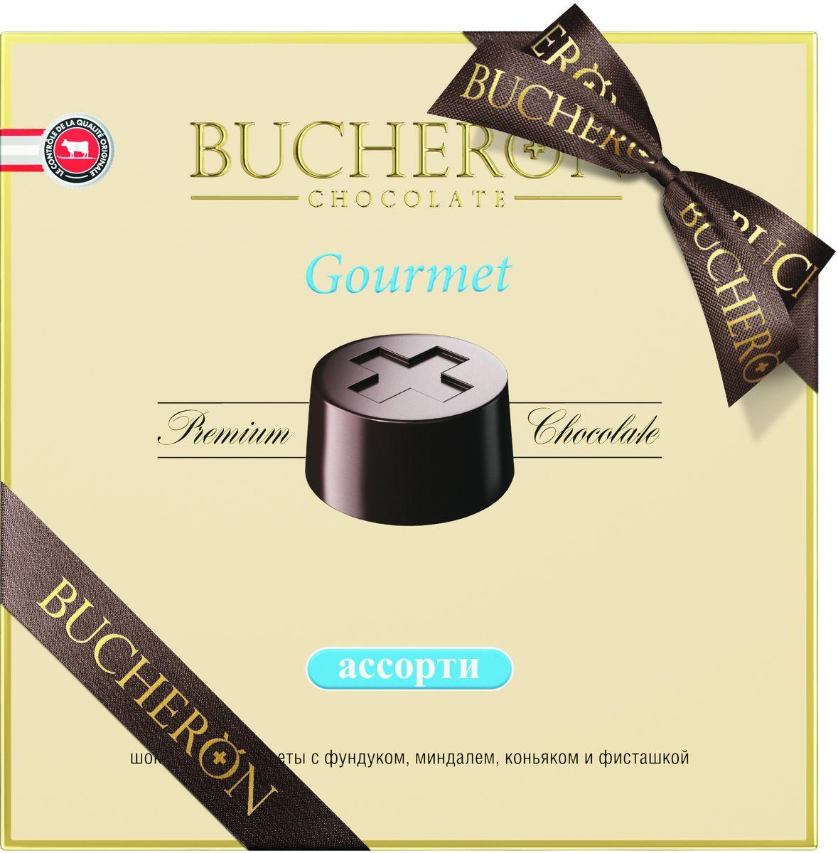 Bucheron Gourmet конфеты ассорти, 180 г конфеты круглые с ромом купить в иркутске