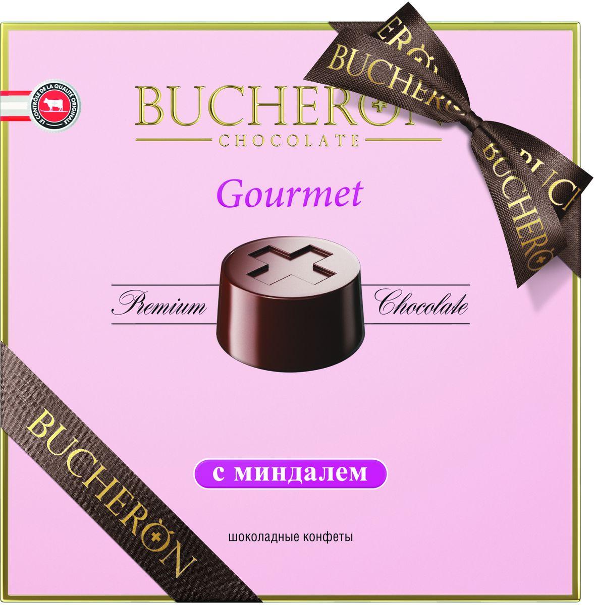 Bucheron Gourmet конфеты с миндалем, 180 г arla natura молоко безлактозное ультрапастеризованное 1 5