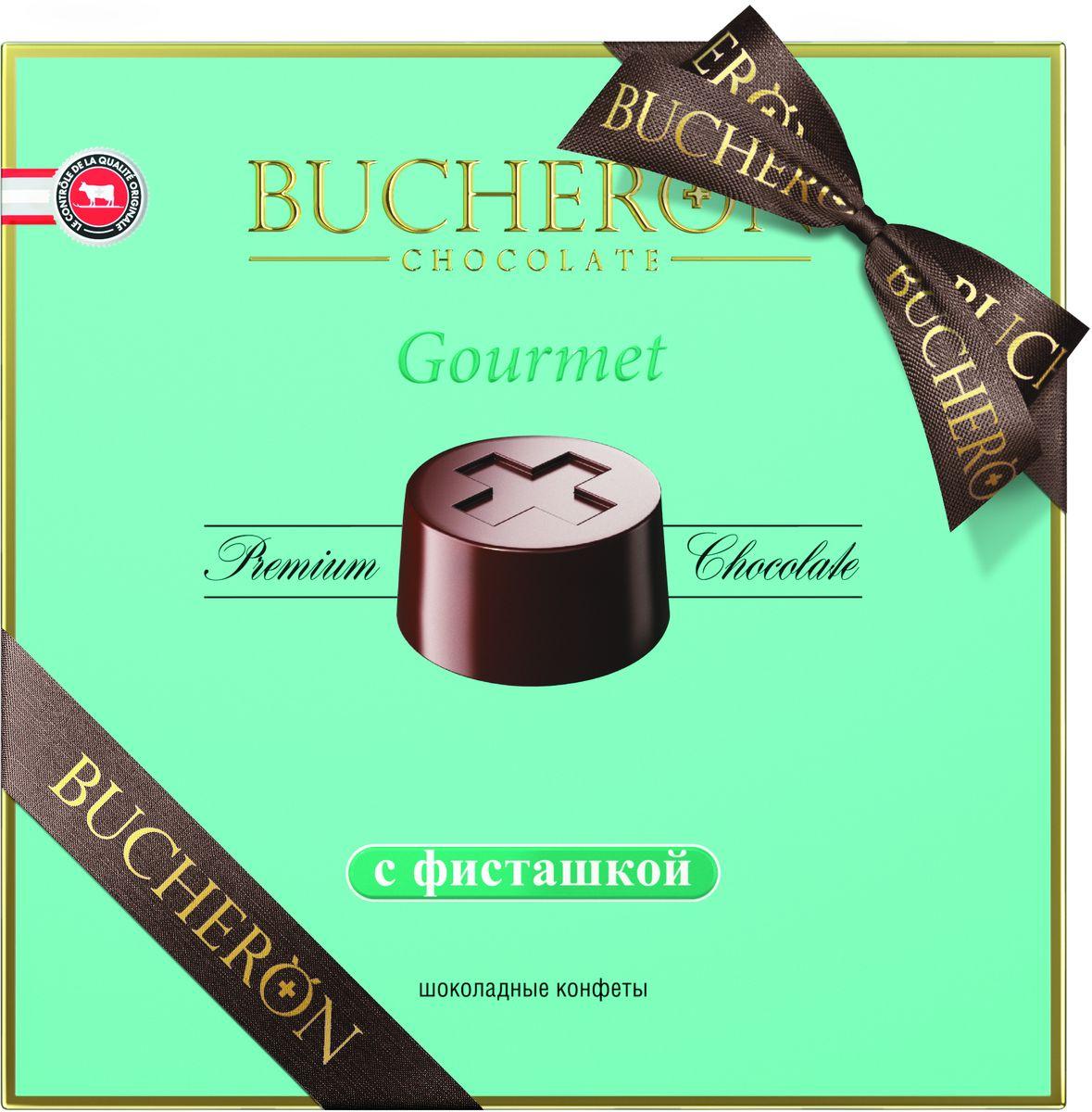 Bucheron Gourmet конфеты с фисташкой, 180 г шоколеди тайна искушения конфеты шоколадные 195 г