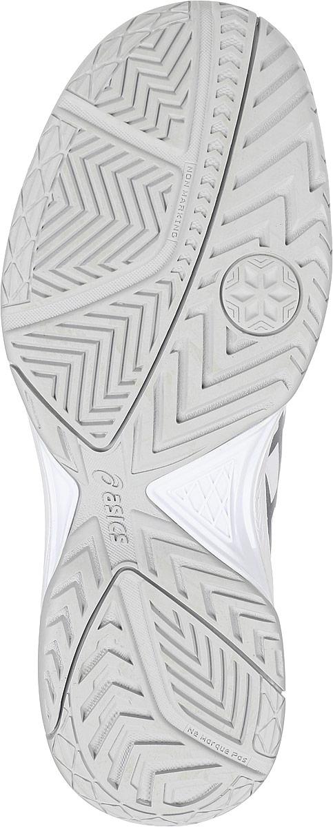 Кроссовки женские Asics Gel-Dedicate 5, цвет:  белый, серебристый.  E757Y-0193.  Размер 5H (34,5) Asics