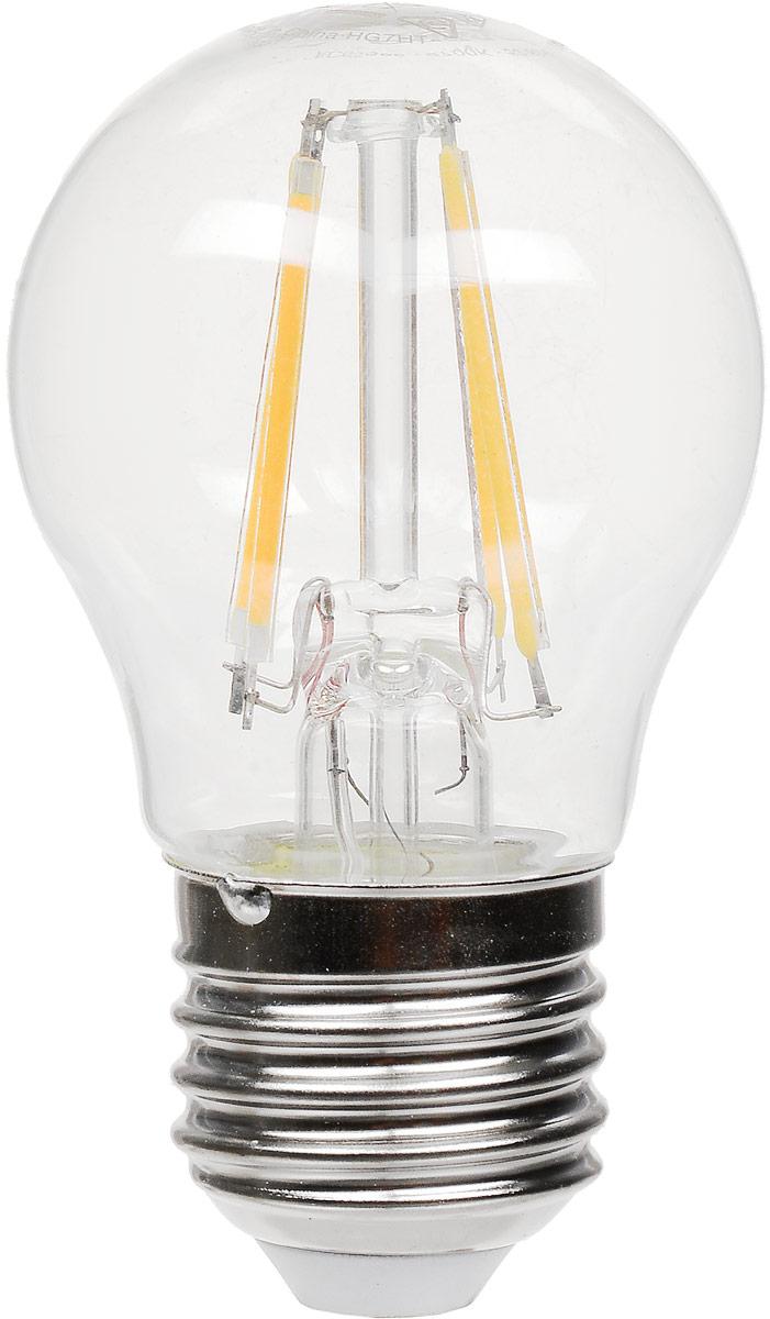 Лампа светодиодная Osram LED Star Classic P 40 4W/830 230V CL E27. 40528999716394052899971639LED CLASSIC P светодиодные лампы шарообразной формы. В качестве источника света используют светодиоды(англ. Light-Emitting Diode, сокр. LED), применяются для бытового, промышленного и уличного освещения.Светодиодная лампа является одним из самых экологически чистых источников света. Принцип свечениясветодиодов позволяет применять в производстве и работе самой лампы безопасные компоненты. Светодиодныелампы не используют веществ, содержащих ртуть, поэтому они не представляют опасности в случае выхода изстроя или повреждения колбы. Особенности: отсутствие пульсаций, экономит примерно 90% энергии,широкий угол света.