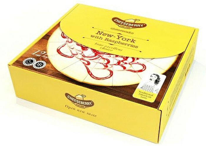 Cheeseberry New-York с малиной, 1000 гМК000001148Чизкейк Нью-Йорк с малиной создает позитивное летнее настроение вне зависимости от времени года и погоды за окном. В этом десерте соблюден идеальный баланс между умеренной сладостью сливочной основы и кислинкой ягод малины