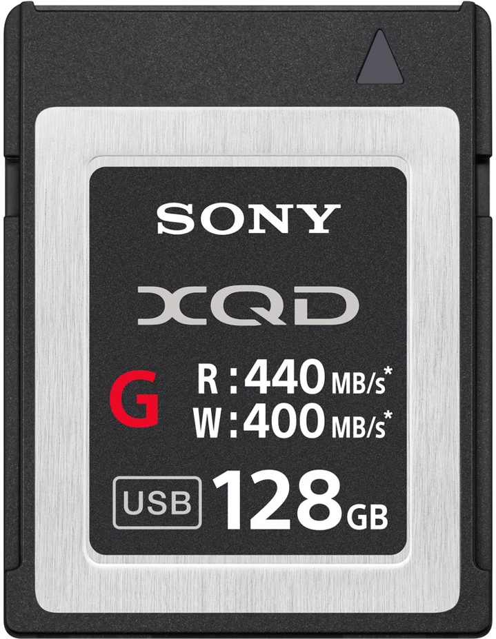 Sony XQD G 128GB 440R/400W карта памяти