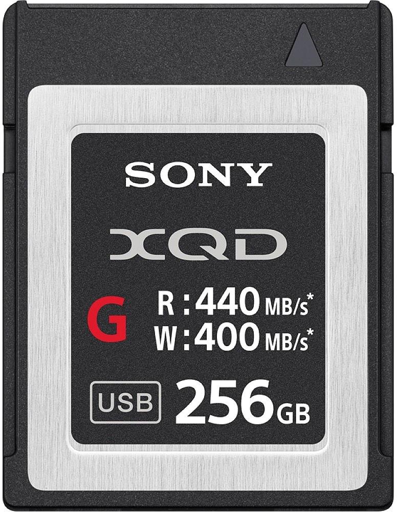 Sony XQD G 256GB 440R/400W карта памяти sony sony hxr nx3 новая профессиональная карта памяти видеокамеры портативный hd