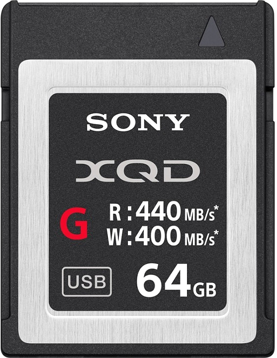 Sony XQD G 64GB 440R/400W карта памяти карта памяти sony sr16nyat
