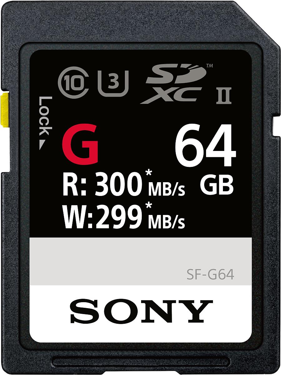 Sony SF-G SD Class 10 UHS-II U3 64GB карта памятиSF64G