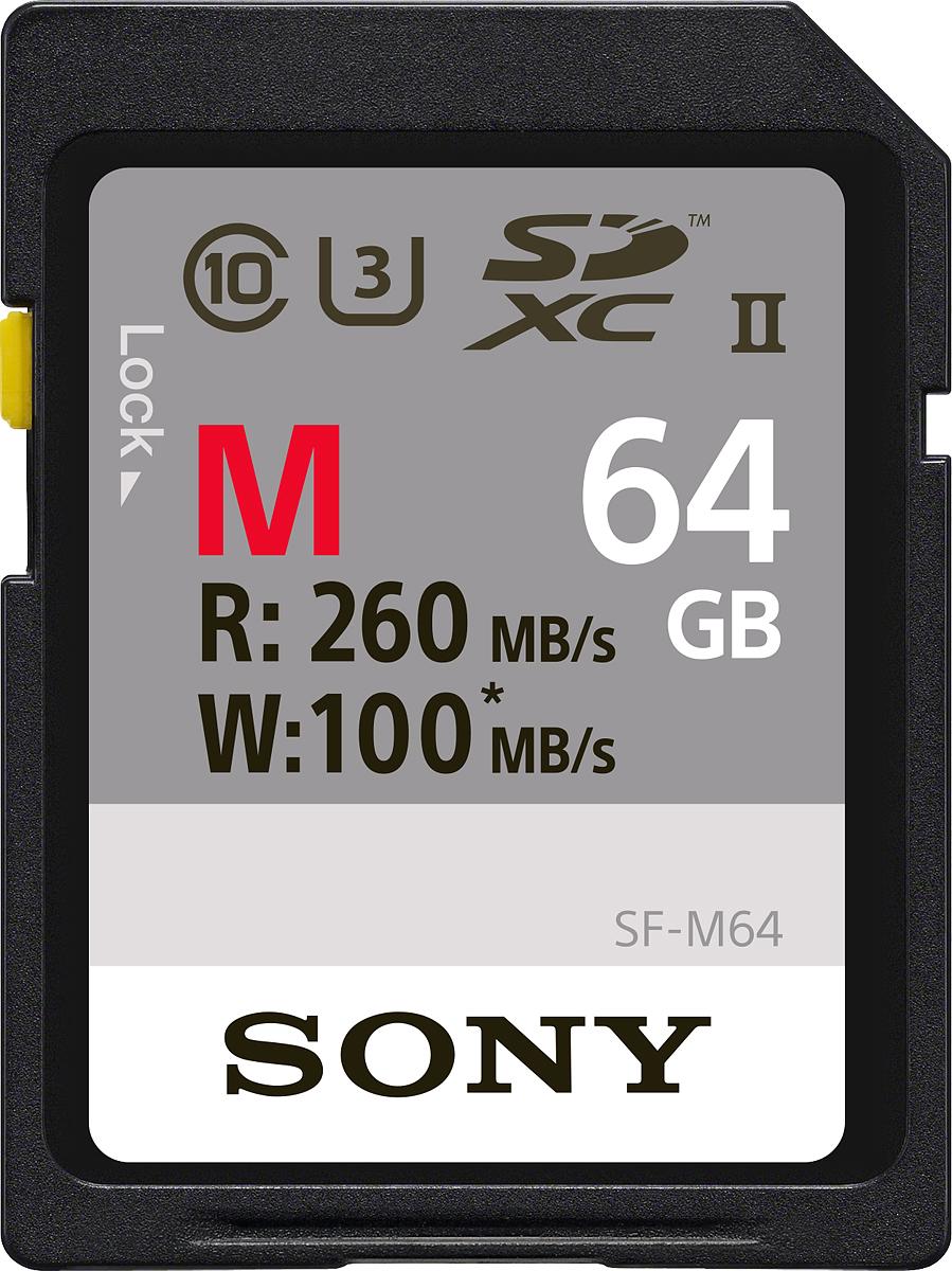 Zakazat.ru Sony SF-M SD Class 10 UHS-II U3 64GB карта памяти