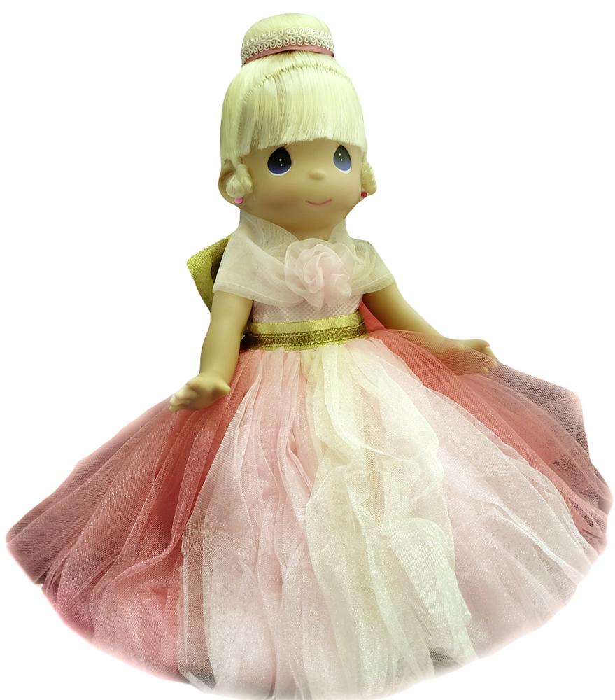 Precious Moments Кукла Драгоценная в розовом куклы gulliver кукла дынька 30см