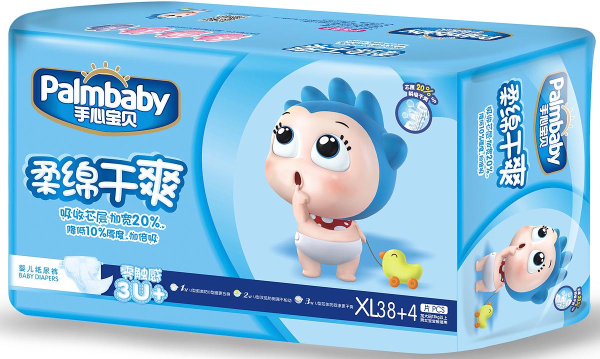 Palmbaby Подгузники детские XL 12-20 кг 42 шт -  Подгузники и пеленки