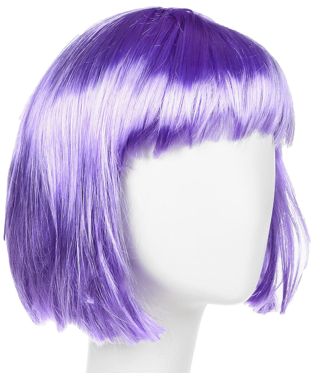 Rio Парик карнавальный цвет фиолетовый 5930
