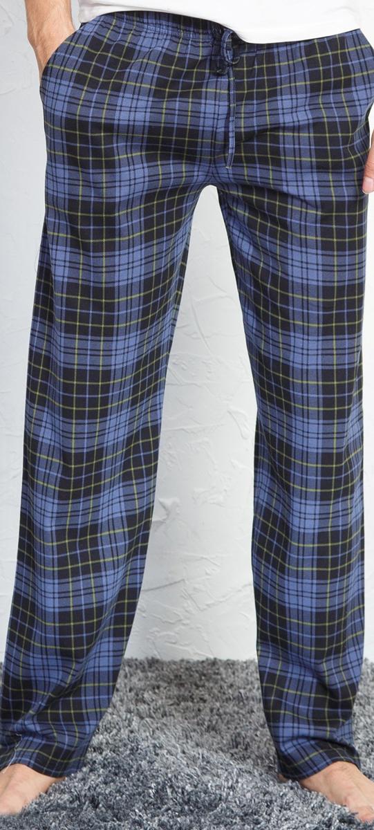 Брюки для дома мужские Vienettas Secret, цвет: сапфировый. 710170 3285. Размер 46710170 3285_сапфировыйМужские брюки для дома Vienettas Secret выполнены из высококачественного материала. Прямая модель в поясе дополнены кулиской.