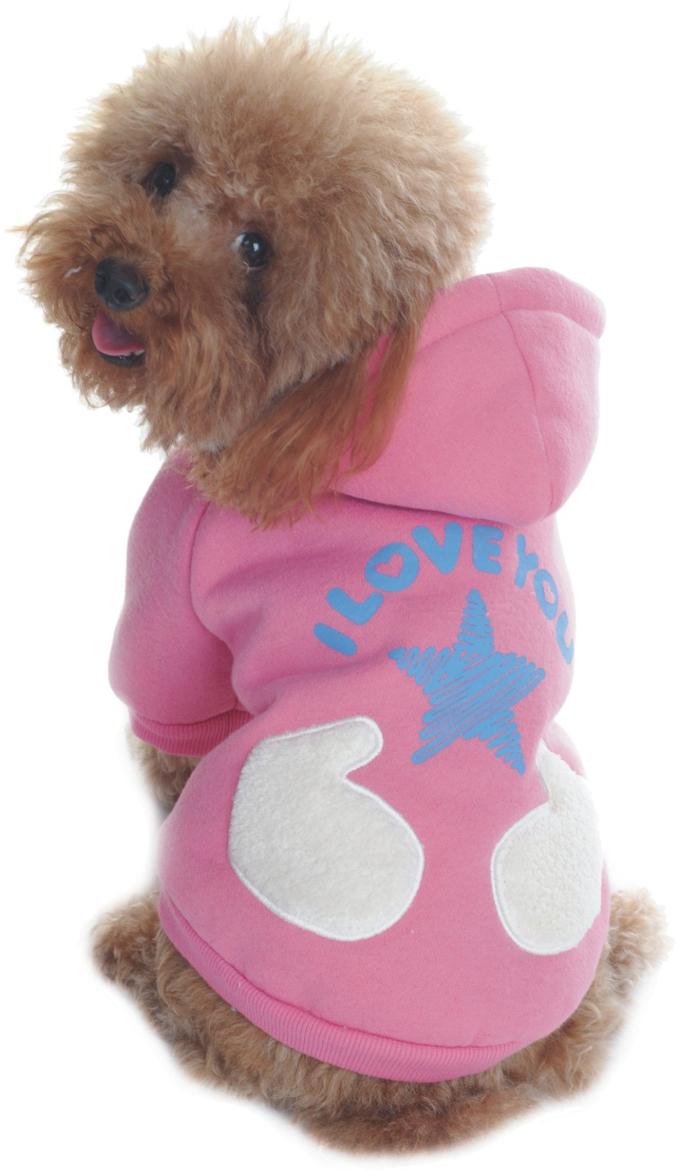 Куртка для собак Dobaz, цвет: розовый. ДА1122АХЛ. Размер XLДА1122АХЛКуртка для собак Dobaz трикотажная дополнена карманом. На спинке рисунок Звезда.Обхват шеи: 34 см.Обхват груди: 54 см.Длина спинки: 36 см.Одежда для собак: нужна ли она и как её выбрать. Статья OZON Гид