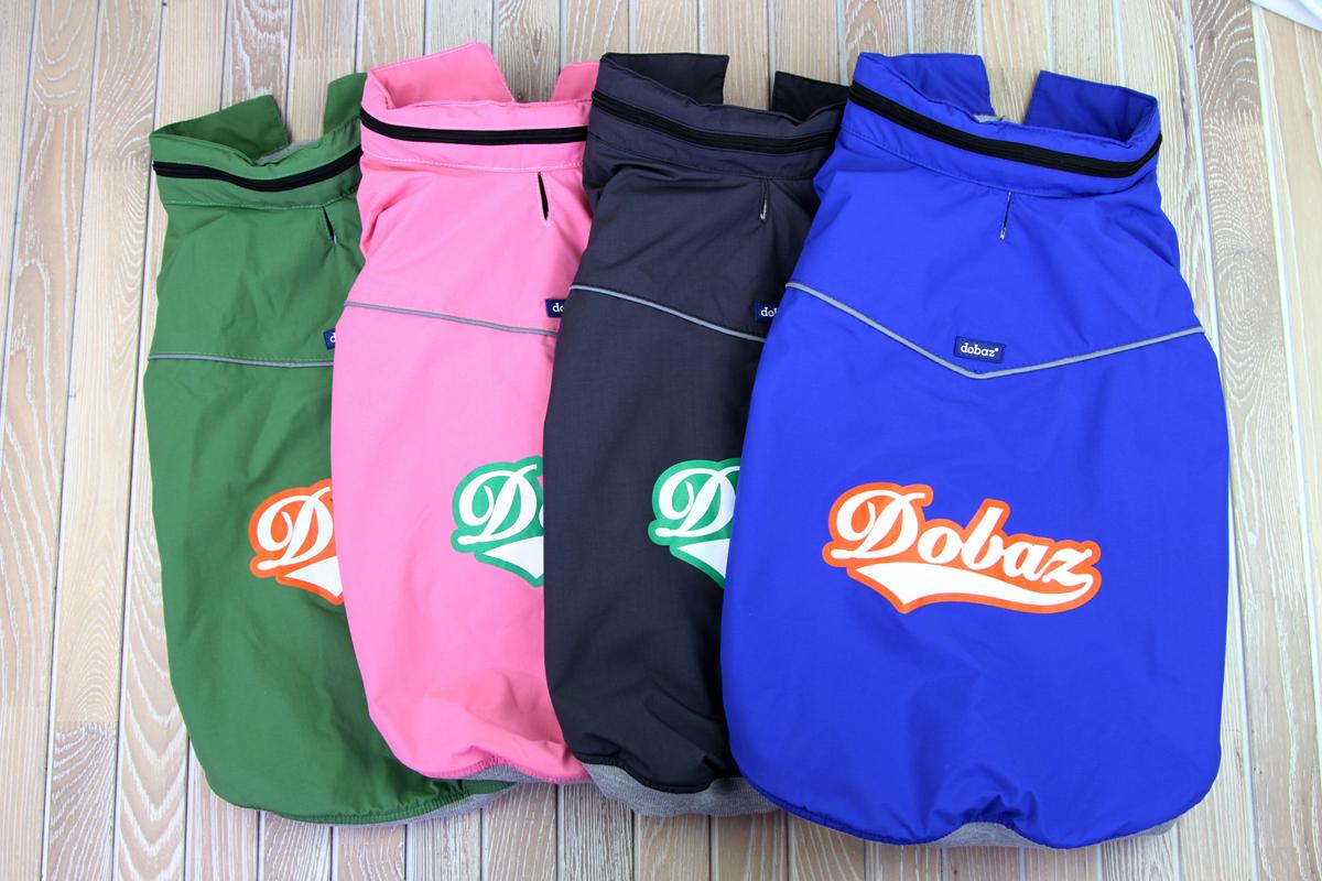 Куртка для собак Dobaz, водонепроницаемая, утепленная, цвет: зеленый. ДА1204С5ХЛ. Размер 5XLДА1204С5ХЛВ дождливое время года ваш четвероногий друг с прогулки приходит грязный? В таком случае позаботьтесь о нем и приобретите непромокаемую куртку на липучках. Куртка Dobaz специально разработана для использования в сырую прохладную погоду. Материал обладает водоотталкивающей способностью, поэтому превосходно защитит вашего питомца.Обхват шеи: 51 см.Обхват груди: 79 см.Длина спинки: 56 см.Одежда для собак: нужна ли она и как её выбрать. Статья OZON Гид