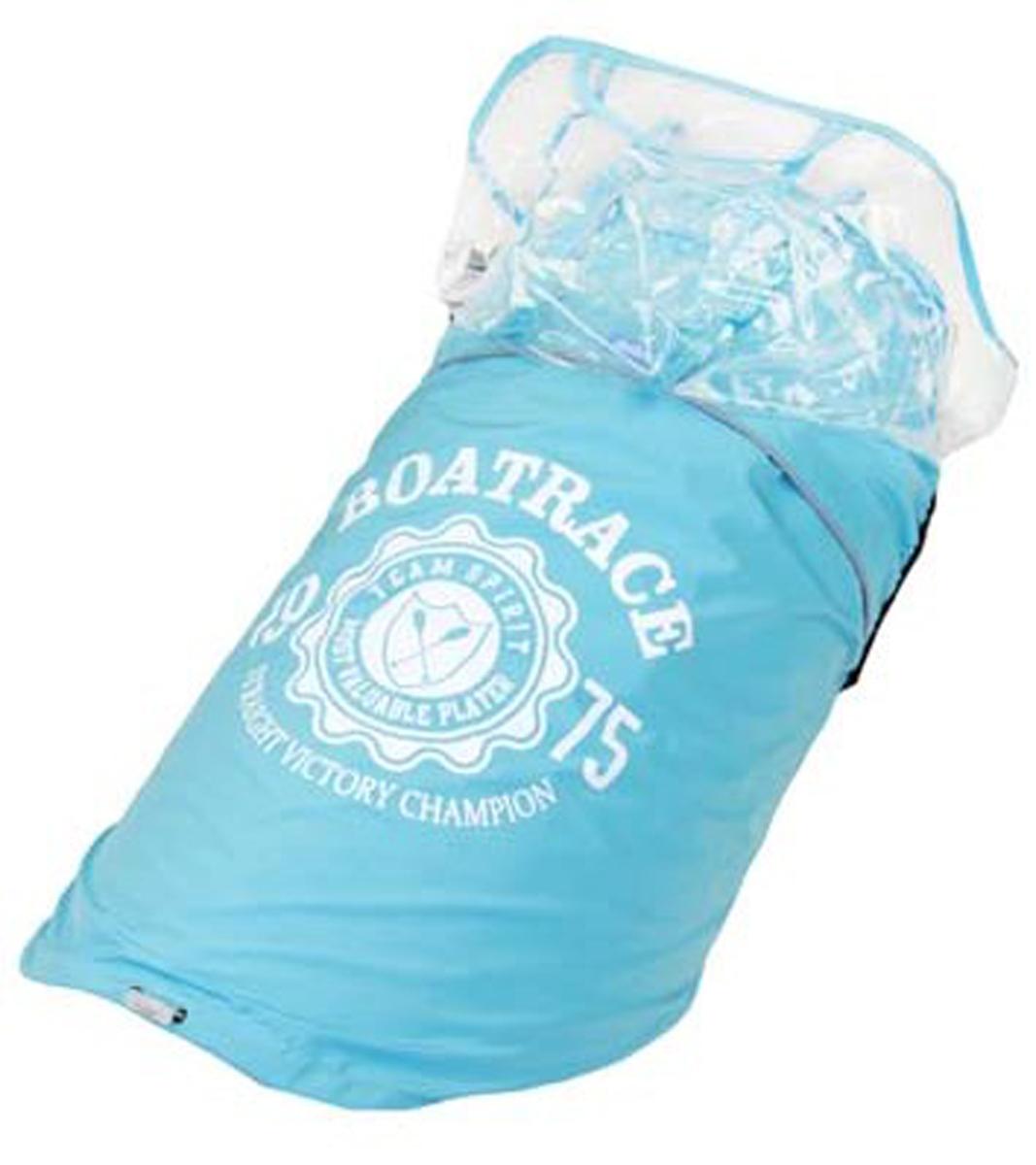 Куртка для собак  Dobaz , водонепроницаемая, цвет: прозрачно-синий. ДА13033Д6ХЛ. Размер 6XL - Одежда, обувь, украшения