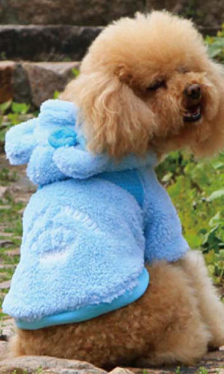 Куртка для собак Dobaz, цвет: голубой. ДА13053СХЛ. Размер XL куртка для собак dobaz цвет голубой черный да1222схл размер xl