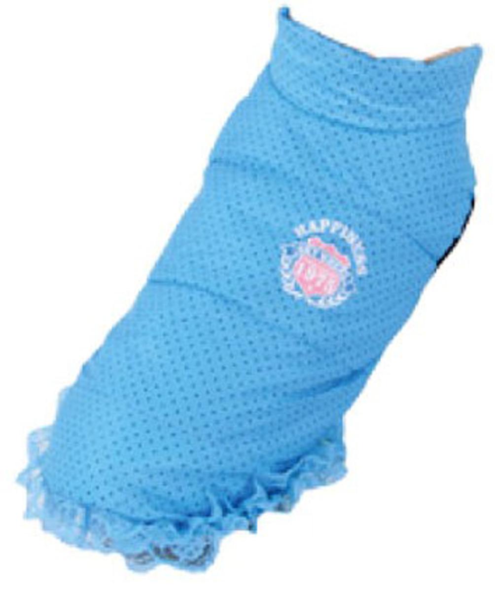 Куртка для собак Dobaz, цвет: голубой. ДА13060СХС. Размер XS