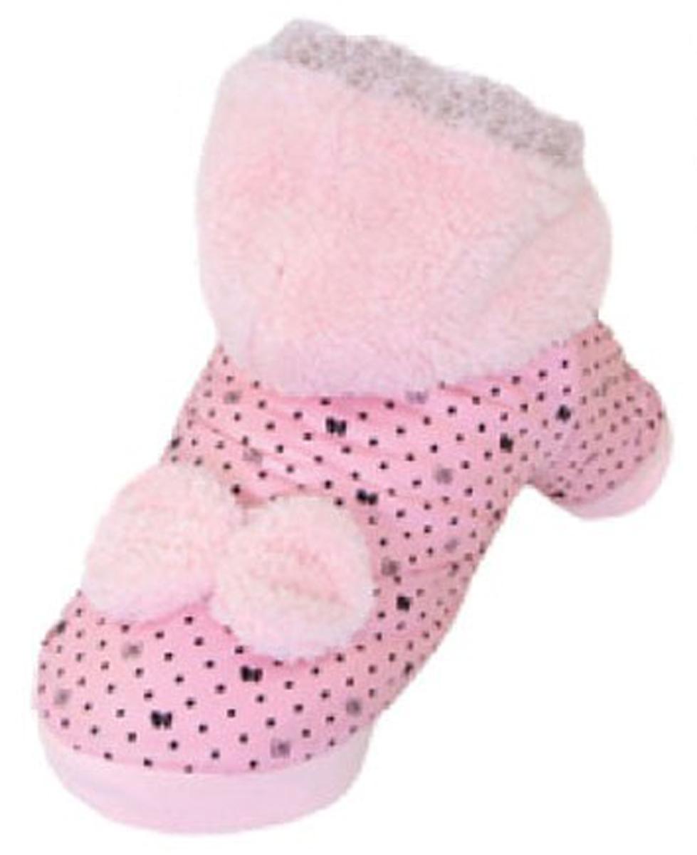 Куртка для собак Dobaz, цвет: розовый. ДА13062БЛ. Размер LДА13062БЛОригинальная удобная для собак Dobaz на подкладке. Не сковывает движения. Мягкая, очень приятная на ощупь. На спинке красивый - объемный бант. Капюшон выполнен из длинноворсового флиса. Обхват шеи: 31 см.Обхват груди: 48 см.Длина спинки: 33 см.Одежда для собак: нужна ли она и как её выбрать. Статья OZON Гид