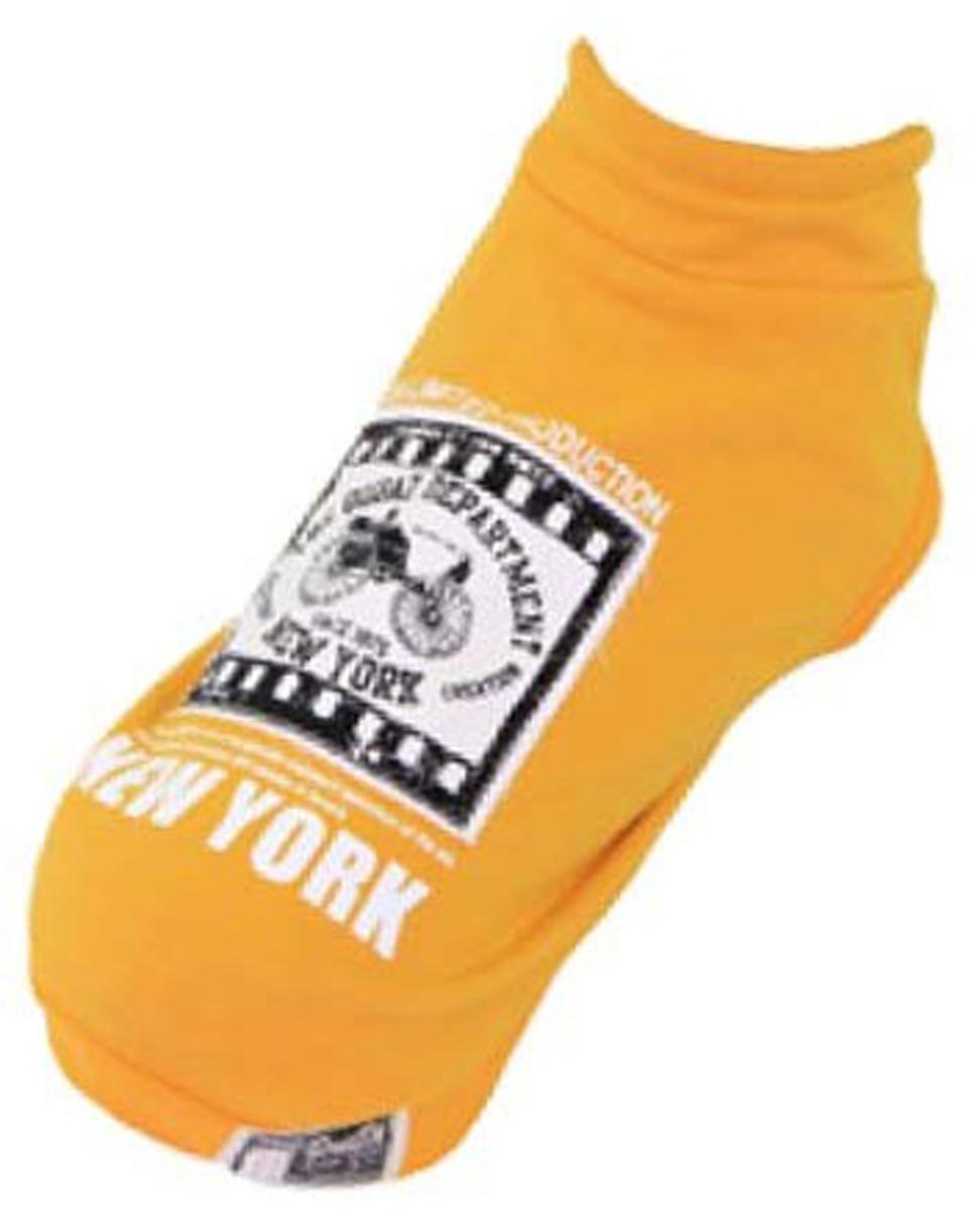 Толстовка для собак Dobaz New York, цвет: желтый. ДА13073БХЛ. Размер XLДА13073БХЛCтильная демисезонная толстовка для собак Dobaz New York застегивается на пуговички снизу. На спинке красивая эмблема и надписи. Оригинальная, удобная одежда для активных собак. Закрывает от ветра и переохлаждения жизненно важные органы. Совершенно не сковывает движения. Без рукавов, собака может двигаться без ограничений.Обхват шеи: 34 см.Обхват груди: 54 см.Длина спинки: 36 см.Одежда для собак: нужна ли она и как её выбрать. Статья OZON Гид