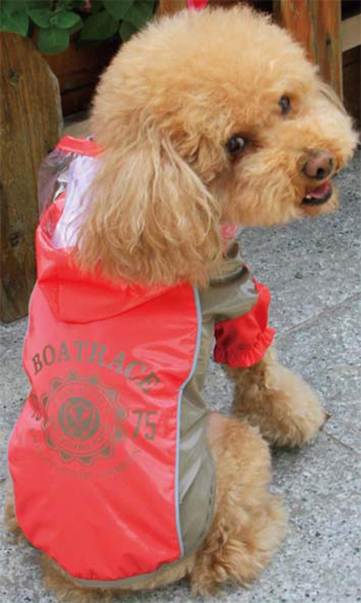 Куртка для собак Dobaz Boatrace, цвет: красный. ДА13079А2ХЛ. Размер 2XLДА13079А2ХЛКуртка для собак Dobaz Boatrace - прекрасный вариант одежды для собак, которые не любят одеваться, так как она совершенно не сковывает движения и собака ее перестает ощущать сразу после одевания. Можно надевать только куртку и использовать с любыми джинсами или штанишками.Легко стирается, хорошо держит форму после стирки.Обхват шеи: 40 см.Обхват груди: 60 см.Длина спинки: 41 см.Одежда для собак: нужна ли она и как её выбрать. Статья OZON Гид