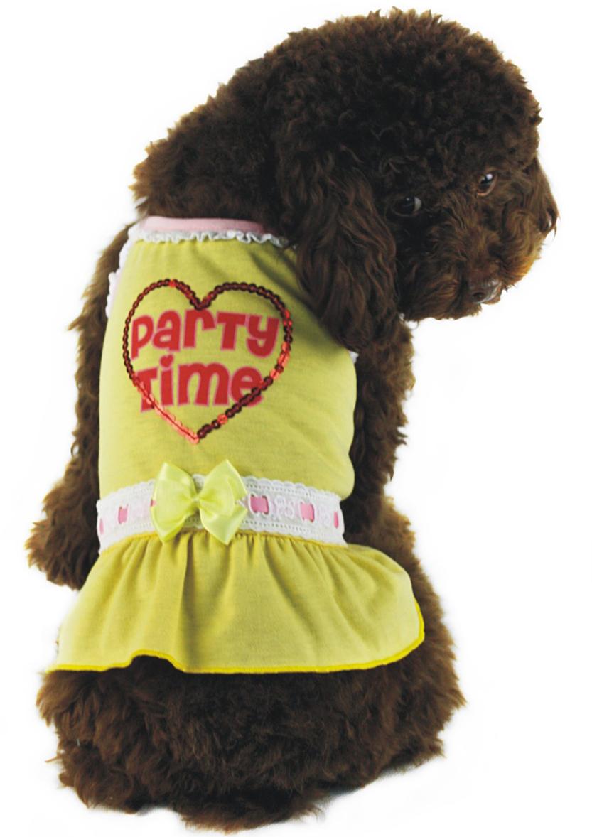 Платье для собак  Dobaz , цвет: желтый. ДГ1110АХЛ. Размер XL - Одежда, обувь, украшения