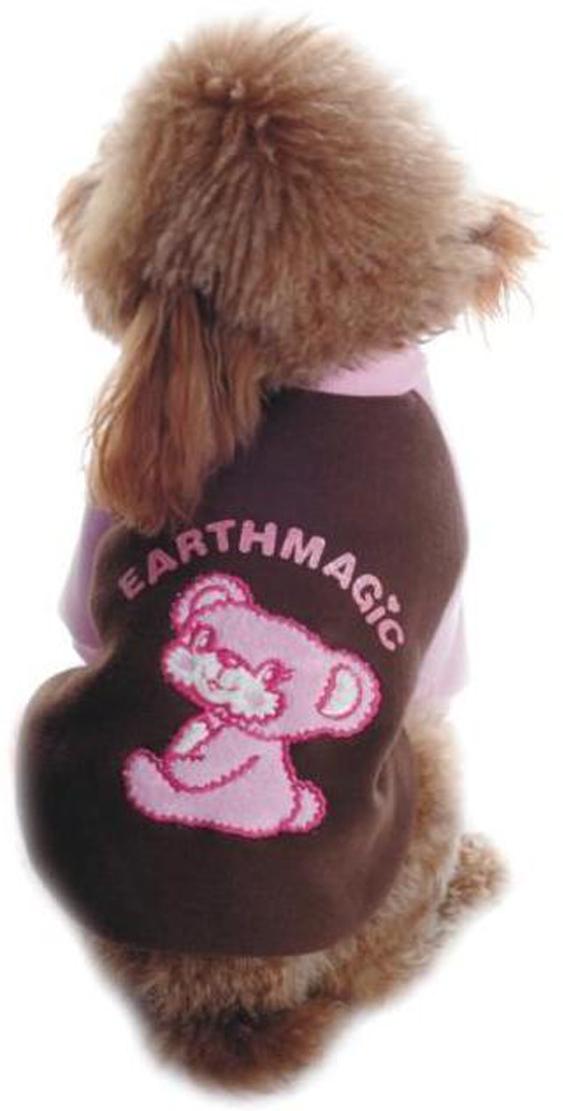 Майка-толстовка для собак Dobaz, утепленная, цвет: коричневый, розовый. ДЛ1102АЛ. Размер LДЛ1102АЛМайка-толстовка для собак Dobaz с рукавами выполнена из хлопка. Изделие оформлено аппликацией. Обхват шеи: 31 см.Обхват груди: 48 см.Длина спинки: 33 см.Одежда для собак: нужна ли она и как её выбрать. Статья OZON Гид