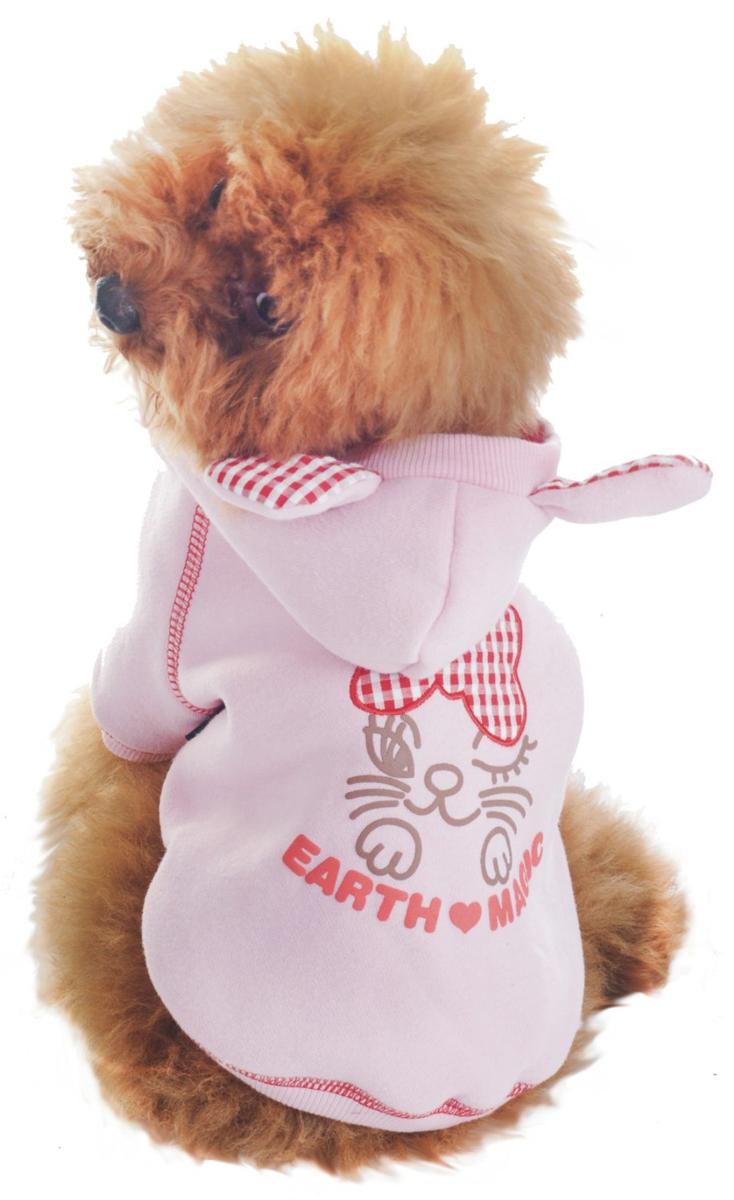 Фото - Куртка для собак Dobaz, утепленная, цвет: розовый. ДЛ1104АХХЛ. Размер XXL trixie стойка с мисками trixie для собак 2х1 8 л