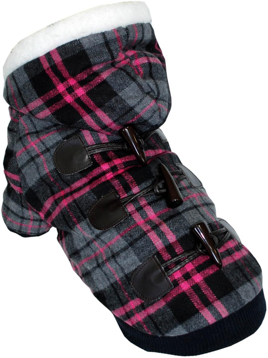 Куртка для собак Pets INN, цвет: розовый. Пет26ХЛ. Размер XLПет26ХЛКуртка для собак Dobaz теплая трикотажная, с подкладкой и капюшоном. Прекрасно подходит для прогулок в холодное время. Красивый дизайн от известного производителя.Обхват шеи: 32-36 см.Обхват груди: 53-61 см.Длина спинки: 40 см.Одежда для собак: нужна ли она и как её выбрать. Статья OZON Гид
