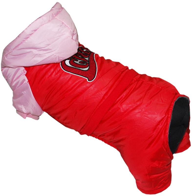 Комбинезон для собак Pets INN LOVELY, цвет: красный, розовый. Петс02М. Размер MПетс02МКомбинезон с капюшоном Pets INN подходит для длительных прогулок. Комфортный и практичный. Обхват шеи: 27-30 см.Обхват груди: 39-47 см.Длина спинки: 30 см.Одежда для собак: нужна ли она и как её выбрать. Статья OZON Гид