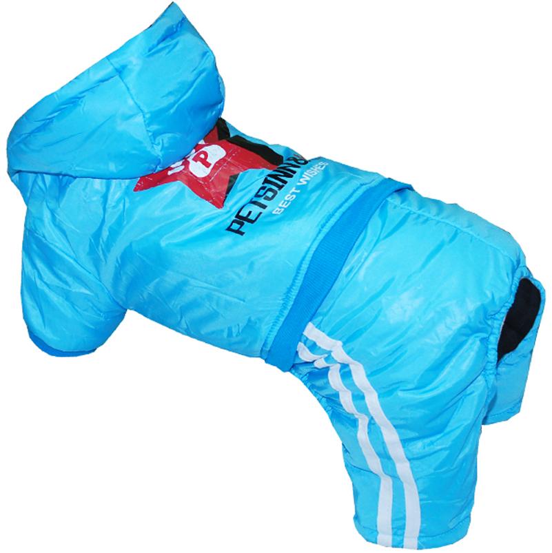 Комбинезон для собак Pets INN Звезда, цвет: голубой. Петс15Л. Размер LПетс15ЛКомбинезон с капюшоном Pets INN Звезда подходит для длительных прогулок. Комфортный и практичный. Обхват шеи: 29-34 см.Обхват груди: 46-55 см.Длина спинки: 35 см.Одежда для собак: нужна ли она и как её выбрать. Статья OZON Гид