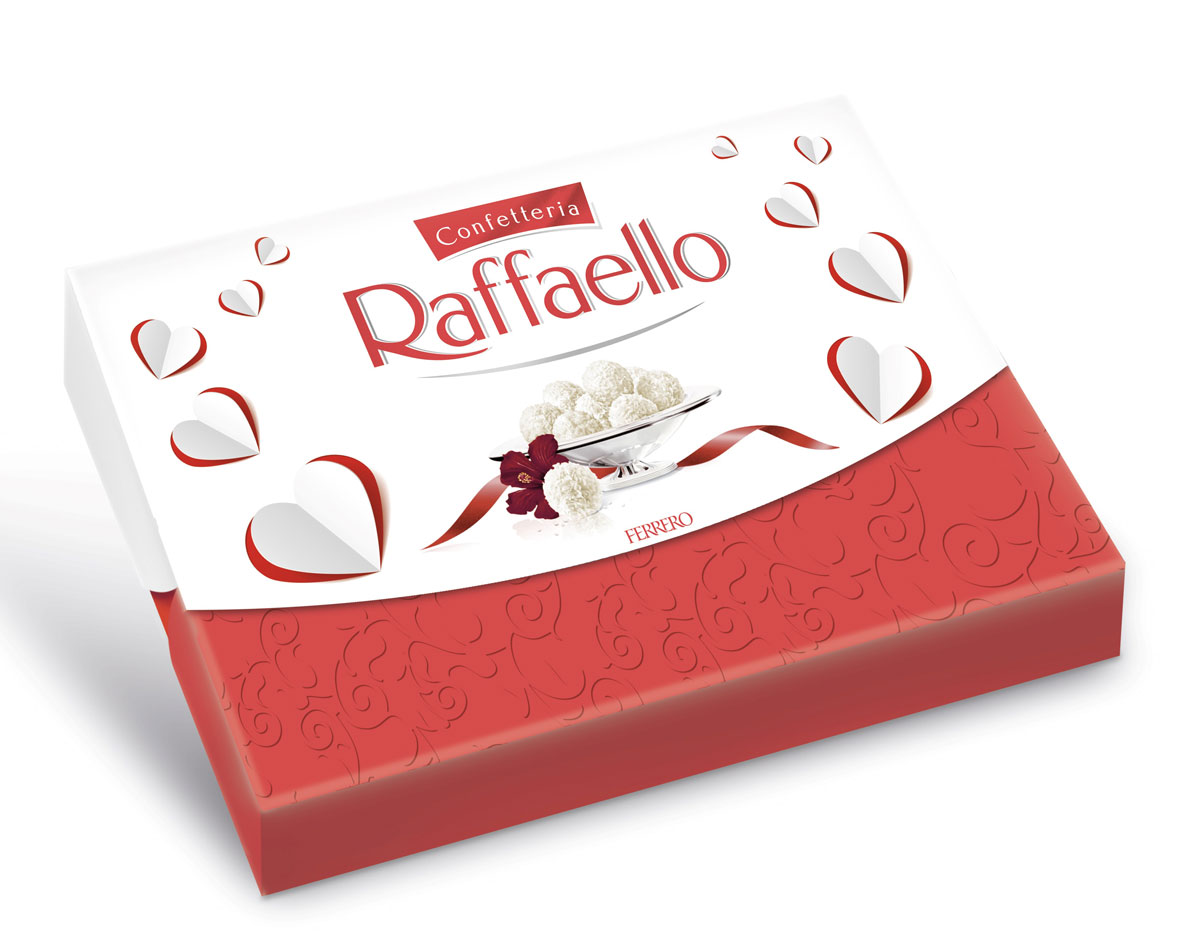 Raffaello конфеты с цельным миндальным орехом в кокосовой обсыпке, 90 г raffaello rossi повседневные брюки