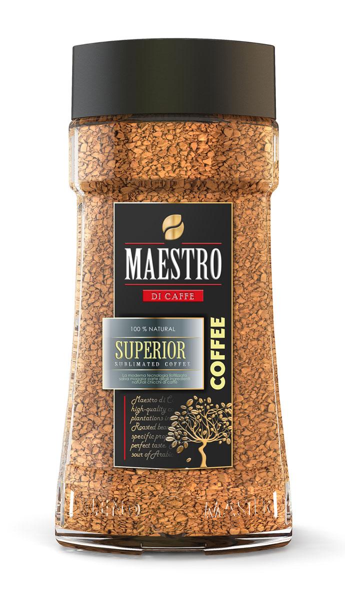 Maestro Di Caffe Superior кофе растворимый сублимированный, 95 г maestro grand